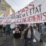 A Mulhouse, acte 10 des manifestations anti-pass et contre les suspensions de soignants