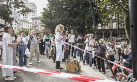 A Mulhouse, onzième acte des manifestations anti-passe, avec Martine Wonner en invitée spéciale