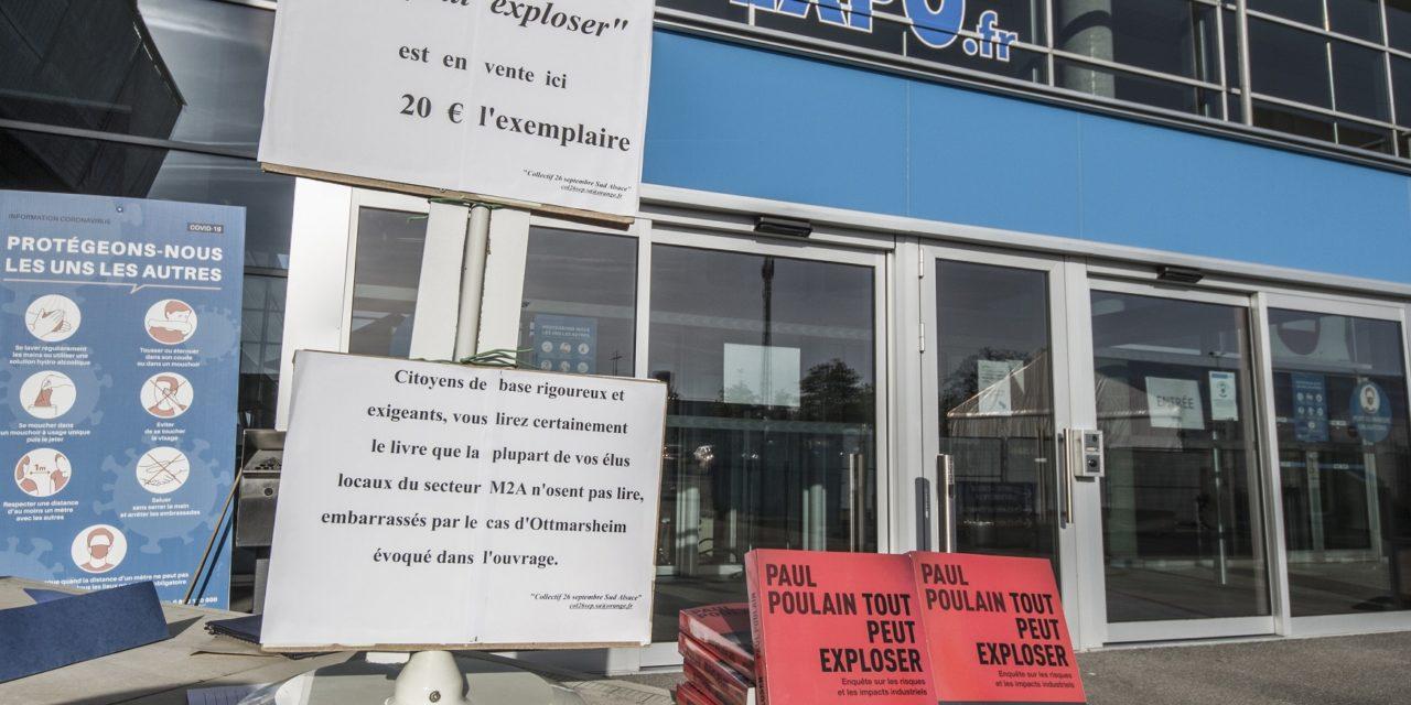 «Tout peut exploser» (aussi) dans le Haut-Rhin : à propos du livre de Paul Poulain, de passage à Mulhouse