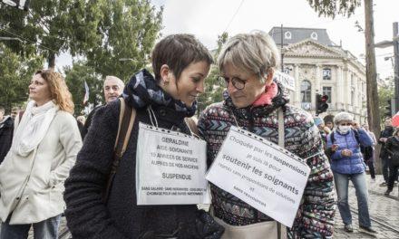 Quatorzième manifestation anti-passe du samedi à Mulhouse, marquée par le retour des gilets jaunes…